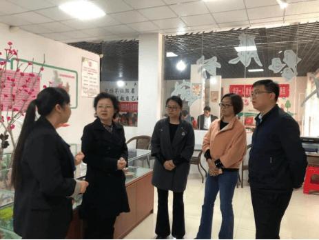 市妇联党组书记、主席徐敏到玉屏调研